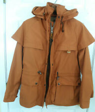 Outback Trading Co. Gore Tex Hooded Duster Jacket Mens XS (runs large to S/M)