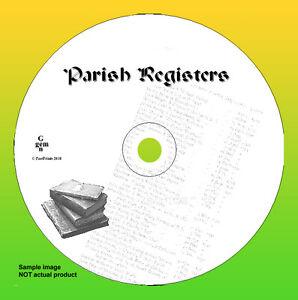 Staffordshire, Stafford, Castle Church 1568-18 Parish Registers Records       MM
