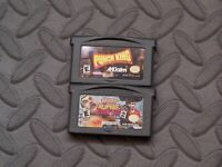 Lot Nintendo Game Boy Advance GBA Games Punch King + Ready to Rumble Boxing: R2