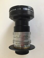 SCHNEIDER CINEGON 10MM F1.8 C-MOUNT LENS with custom 1.5x extender and M43 mount