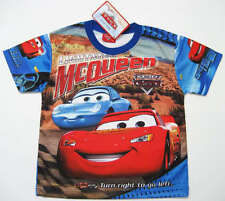 TRES JOLI TEE-SHIRT DISNEY CARS MCQUEEN 3-4 ans (S) QUALITE imprimé 2 faces