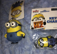 Kurt Adler Despicable Me MINION Christmas Ornament And Keychain New