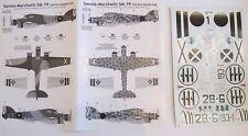 CLASSIC AIRFRAMES DECALC /STICKERS SAVOIA-MARCHETTI SM 79 1/48