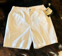 WOOLRICH Canal Walking Shorts Womens Size 4 - White - MSRP $41
