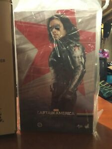 Hot Toys Winter Soldier Bucky Captain America Mint In Box New  Marvel 1/6 MMS241