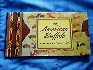 "2001 D AMERICAN BUFFALO COIN AND CURRENCY SET ""COMPLETE"" LAST ONE"