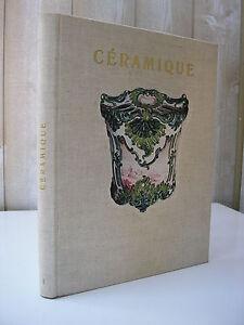 CERAMIQUE. T1: Etudes céramologiques. Nyon 1954 33 planches d'illustrations