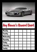 Sports Car Star Sticker Reward Chart