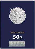 2018 Paddington Bear 50p Coin at Palace Waving Flag NEW Brilliant Uncirculated