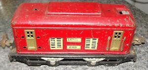 Vintage Prewar O Scale Lionel #248 Engine – Pre-owned & Good for Parts