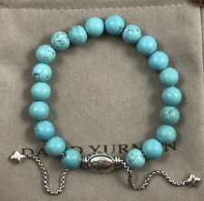 DAVID YURMAN SPIRITUAL BEADS BRACELET WITH TURQUOISE 8mm