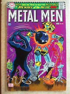 Metal Men 26 VG (Jun 1967 DC) Ross Andru Cntrfold loose @ bottom stple