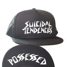 SUICIDAL TENDENCIES - POSSESSED MESH FLIP CAP - BLACK - SURF SKATE THRASH PUNK