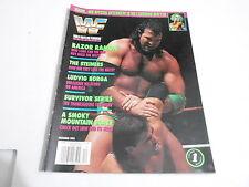 DEC 1993 WWF pro wrestling magazine RAZOR RAMON - LUDVIG BORGA