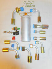 AIR CONDITIONING UNIVERSAL A/C O RING FITTING W/BULKHEAD KIT,DRIER,SWITC & WIRE