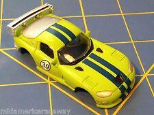 Green w/ Blue Stripes Dodge Viper GTS American Line Body HO AML B450-g