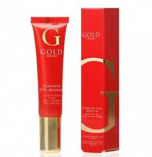 Gold Serum Flawless Eye+ Medium 15ml Contain Gransil EP-9 For aSoft focus Effect
