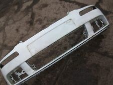 VW GOLF 2003-2009 MK5 FRONT BUMPER DAMAGED SPARES OR REPAIRS WHITE