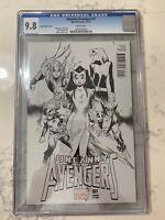 Uncanny Avengers #1 Coipel Sketch 1:200 Variant CGC 9.8 2012