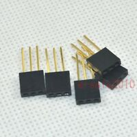 10pcs 2.54mm 1x3Pin tall Female stackable Header for Arduino Shield socket 331B