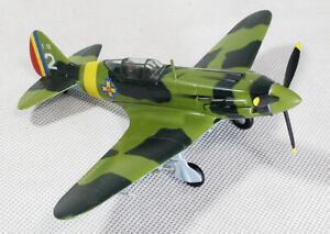 WWII RUMANIAN MIG-3 Rumanian Captured 1/72 aircraft finished plane Easy model
