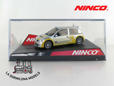 "NINCO 50297 RENAULT CLIO SUPER 1600 ""SHOWCAR"" - SLOT SCALEXTRIC - NUEVO"