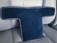 Mercedes R 107 380 450 500 560 SL Console Tunnel Carpet Cover Piece Blue OEM !