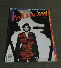 ANDY WARHOL'S INTERVIEW - JODIE FOSTER - STAN LEE - LILY TOMLIN - OCTOBER 1991