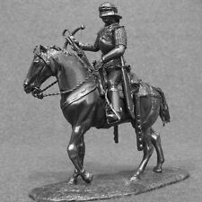 Knight Toy Soldiers Medieval 1/32 Cavalry Crossbowman Horseback Miniature 54mm