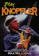 Mark Knopfler of Dire Straits New Sealed Guitar Instructional Max Milligan Dvd