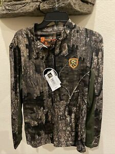 NEW DRAKE NON TYPICAL PERFORMANCE 1/4 ZIP L/S SHIRT WITH AGION ACTIVE Size Small