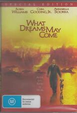 WHAT DREAMS MAY COME ROBIN WILLIAMS & CUBA GOODING JNR NEW ALL REGION DVD