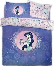 Disney Aladdin Princess Jasmine Purple Lilac Mandala Double Duvet Cover Set
