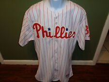 Cliff Lee Philadelphia Philles  Jersey  MAJESTIC SIZE 52 SEWN