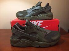 timeless design 15953 14b7e Nike Huarache Run Cargo Khaki Olive Black Hemp 318429-308 sz 9.5 QS