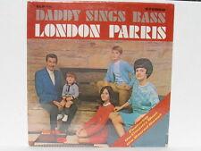 London Parris Daddy Sings Bass (Blackwood Bros. Rebels) solo vinyl LP sealed!