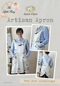 """JANET CLARE """"ARTISAN APRON"""" SEWING PATTERN MAKE YOUR OWN APRON"""