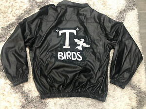 Men/'s 50/'s GREASER Grease Faux Leather Biker Fonzie Jacket Group Costume T-Birds