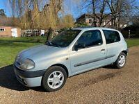 2001 Renault Clio 1.2 16V, 3dr HATCHBACK Petrol Manual