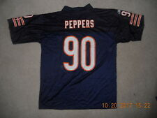 Chicago Bears Nfl Football Reebok Jersey #90 Julius Peppers Defense Rare Large