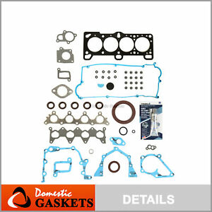 Fit 2005 Hyundai Accent 1.6L DOHC Full Gasket Set G4EC