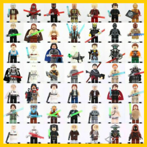 Lego Star Wars Minifigures 200 + new C-3PO Skywalker model toys collection guard