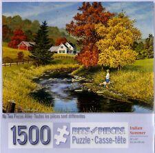 Indian Summer 1500 Piece Puzzle - John Sloane