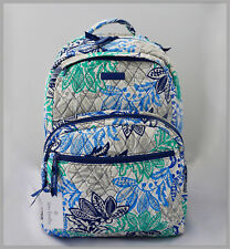 Vera Bradley Essential Large Backpack - Santiago - NWT $149 - Quilted Cotton
