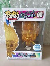 Trolls Funko Pop - Gold Troll 08 Diamond Edition Funko Ltd Edition