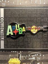 Hard Rock Cafe - Aruba guitar with red star