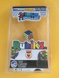 New The Worlds Smallest Rubik's Cube Puzzle Game tiny game Novelty Gift Retro