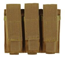 Voodoo Tactical - Pistol Triple Mag Pouch, Coyote