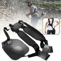 Double Shoulder Harness Strap For Brushcutter Strimmer Trimmer Whipper Snipper