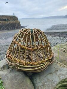 Wicker Withy Lobster Crab Pot Nauticalia
